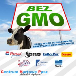 Pasze i koncentraty bez GMO