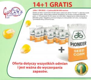 Pioneer Promocja 14+1