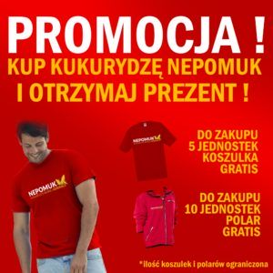 Nepomuk – Promocja, zgarnij koszulkę !