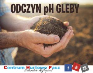 Odczyn pH gleby